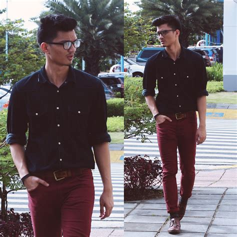 What To Wear With Maroon Jeans Men | www.pixshark.com - Images Galleries With A Bite!