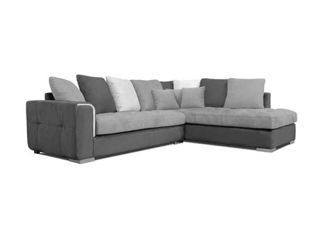 acheter canapé d angle acheter votre canapé d 39 angle moderne coussins jetés gris