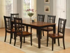 furniture kitchen sets dinette kitchen dining room set 7pc table and 6 chairs ebay