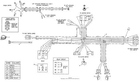 bunton bobcat ryan   hp kohler wd  series mower parts diagram  wiring