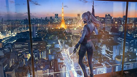 8983 views | 11332 downloads. 4k Anime City Wallpapers - Wallpaper Cave