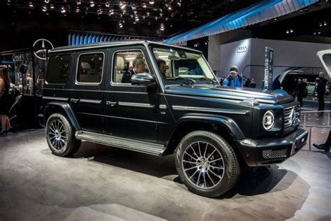 2018 Mercedes G-class Introduced In Detroit