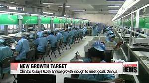 China′s Xi says 6.5 pct. annual growth enough to meet ...
