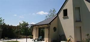 extension maison bruno jouanny architecte With surface d une maison 4 toitures monopentes et volumes simples pour cette