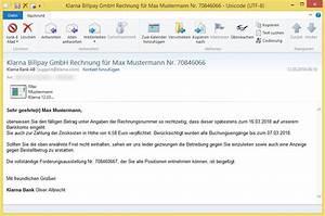 Klarna Rechnung In Ratenkauf Umwandeln : offene rechnung von klarna inc 45796365 von klarna rechnung kundendienst oder ~ Themetempest.com Abrechnung
