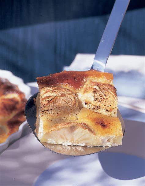 recette de cuisine simple et bonne clafoutis aux pommes et aux amandes pour 6 personnes