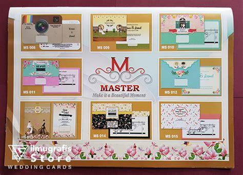 album undangan master ii blangko undangan master