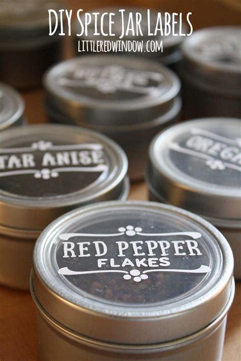 magnetic spice jar labels favecraftscom