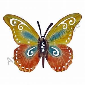 Papillon Décoration Murale : papillon m tal accrocher d coration murale avenue de la plage ~ Teatrodelosmanantiales.com Idées de Décoration