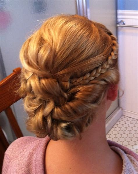 medium brunette archives homecoming hairstyles 2014