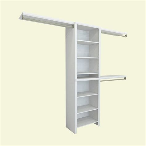 Closetmaid Systems - closetmaid impressions 5 ft 10 ft 14 57 in d x 120 in