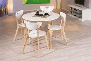 meubles ensemble table ronde et chaise collection avec With meuble salle À manger avec chaises de cuisine et de salle À manger