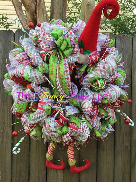 xl elf wreath trendy tree custom designer creations