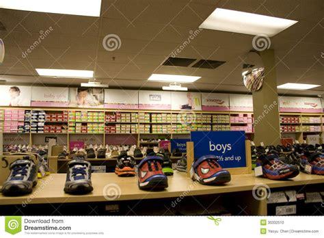 kids sport shoe store editorial image image  retail