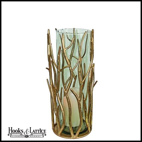 twig candle holder twig hurricane candle holder collection of 3 sizes