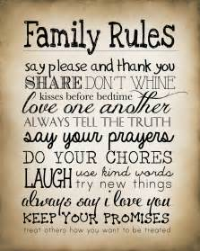 Free Printable Family Rules Sign