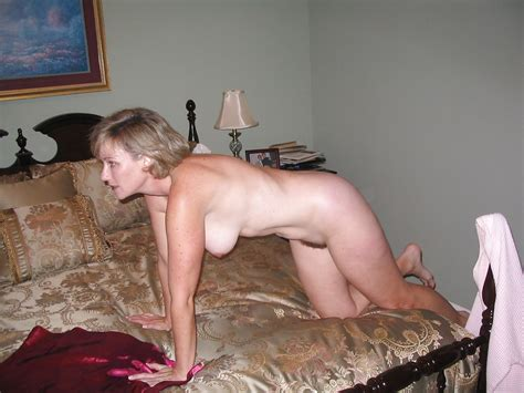 Blonde Mature Wife Shows Off In Front Of Her Husband On