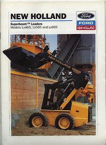 New Holland Lx465 Lx565 And Lx665 Superboom Tm Loaders