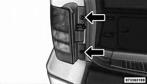Jeep Liberty  Rear Tail  Stop  Turn Signal  And Back