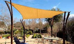 Voile D Ombrage Rectangulaire : voile d ombrage triangulaire et rectangulaire am nager jardin ~ Dailycaller-alerts.com Idées de Décoration