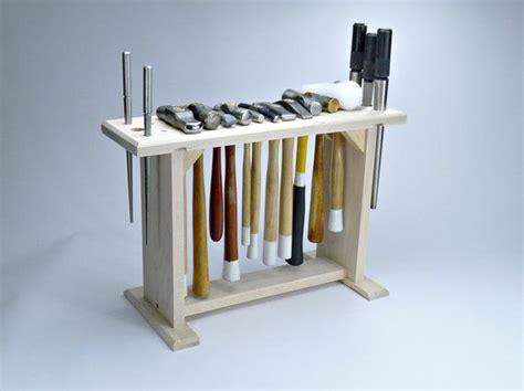 hammer rack holder jewelry tools organizer maple wood