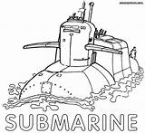 Submarine Coloring Pages Comments sketch template