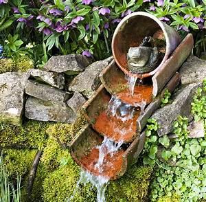 9 exemples de fontaines pour votre jardin detente jardin With lovely moulin en pierre pour jardin 5 decoration pour petit jardin
