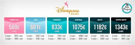 prix chambre hotel disney tarifs des nuits sèches en hôtels disney hello