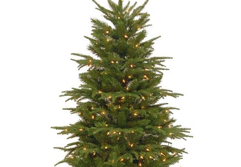 7ft pre lit northern frasier fir feel real artificial