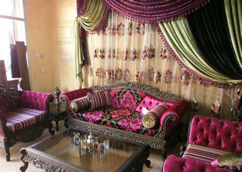 canapé orientale salon deco salon marocain