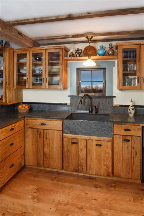 kitchen cabinets with floors farm style custom cabinets stauffer woodworking 9535