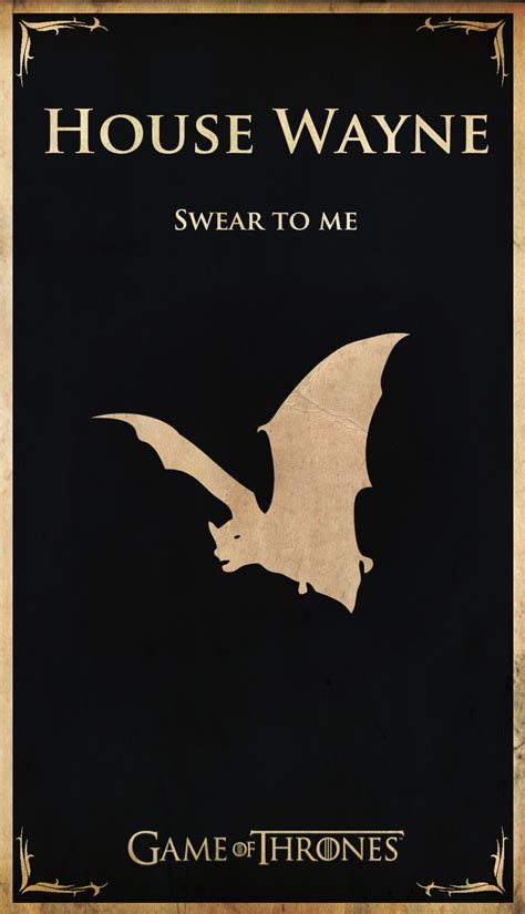 game  thrones meets  rest  pop culture house flags