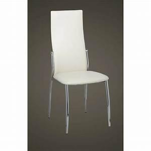 Stühle Esszimmer Günstig : esszimmer st hle 2er set wei chrom kunstleder g nstig kaufen ~ Markanthonyermac.com Haus und Dekorationen
