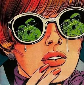 Crying pop art girl. | Cartoon / Comic | Pinterest