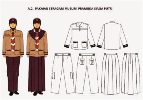 dhn konveksi sk kwarnas tentang pakaian seragam anggota