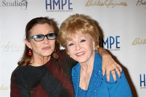 debbie reynolds grey s anatomy carrie fisher and debbie reynolds public memorial service