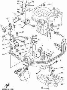 2002 Yamaha Electrical 2 Parts For 8 Hp T8plra Outboard Motor