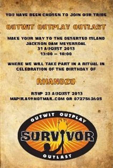 Pin on Survivor Party Ideas