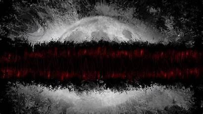 Planet Paint Lines Gray Dark 4k Uhd