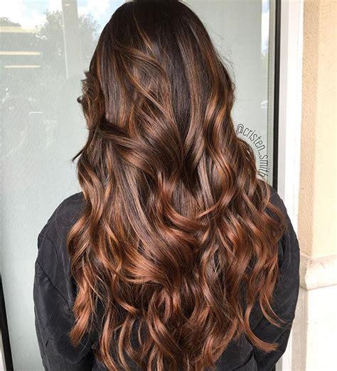 caramel mocha balayage aveda hair hair styles