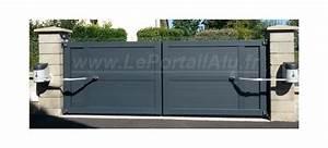 Portail Alu En Kit : portail alu 3m 4m 5m remplissage t l ou sur mesure ~ Edinachiropracticcenter.com Idées de Décoration
