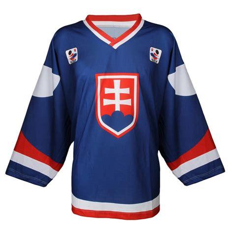 Pro nošení jako fanouškovský dres objednejte velikost dresu o jednu. OFFENSIVE-HOKEJ DRES SK MODRY | EXIsport Eshop