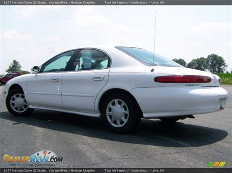 1997 Mercury Sable GS Sedan Vibrant White / Medium ...