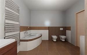 3D model koupelny