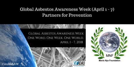 global asbestos awareness week day  world health