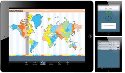 world clocktime zones app ipad