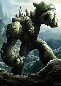 Stone Golem by Serathus on DeviantArt