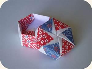 Boite Cartonnage Tuto Gratuit : tuto boite octogonale origami ~ Louise-bijoux.com Idées de Décoration