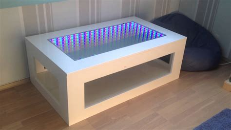 3d illusion table ls 3d led illusion mirror table youtube