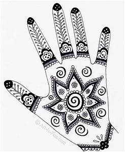 Henna Hand Designs Art Lesson: Make a Unique Self-Portrait ...